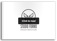 Studio Formo Design Brochure Graphic Portfolio
