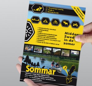 <span>Branding for Swedish outdoor camping</span><i>→</i>