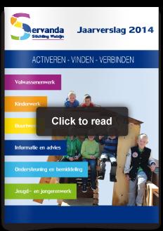 design ontwerp Issuu jaarverslag publieksversie Servanda Welzijn Hardinxveld-Giessendam