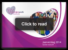 Issuu annual report welfare organization welzijnswerk sliedrecht jaarverslag publieksversie boekje