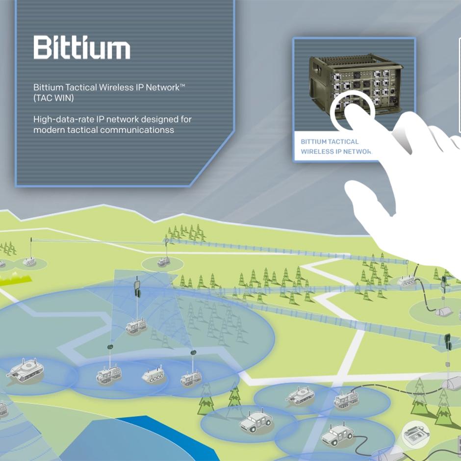 Interactive Map Design For Bittium